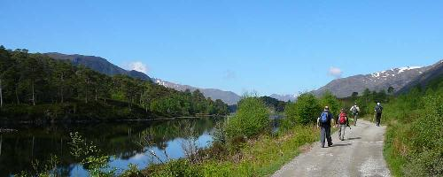 Leg�jabb �ti c�lok: Sk�cia, The Affric Kintail Way