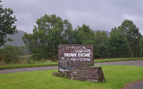Leg�jabb �ti c�lok: Sk�cia, Beinn Eighe visitor centre