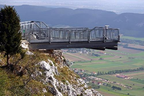 Skywalk kilátó, Hohe Wand